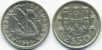 2 1/2 Escudos 1980 Portugal - Portugal Republik seit 1910 fast prägefri... 1,40 EUR  +  1,80 EUR shipping