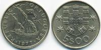 5 Escudos 1977 Portugal - Portugal Republik seit 1910 prägefrisch  2,00 EUR  +  1,80 EUR shipping