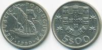 5 Escudos 1980 Portugal - Portugal Republik seit 1910 vorzüglich  1,40 EUR  +  1,80 EUR shipping