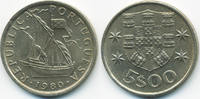 5 Escudos 1980 Portugal - Portugal Republik seit 1910 vorzüglich/prägef... 1,80 EUR  +  1,80 EUR shipping