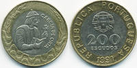 200 Escudos 1991 Portugal - Portugal Republik seit 1910 – Garcia de Ort... 4,50 EUR  +  1,80 EUR shipping