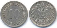 Kaiserreich 10 Pfennig großer Adler - Kupfer/Nickel