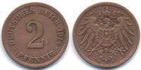 2 Pfennig 1914 F Kaiserreich großer Adler - Kupfer sehr schön - gereini... 39,00 EUR  +  4,80 EUR shipping