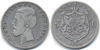 5 Lei 1880 B Rumänien - Romania Carol I. 1866-1914 Name am Rand schön/s... 42,00 EUR  +  4,80 EUR shipping