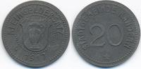 20 Pfennig 1917 Baden Kandern - Zink 1917 (Funck 232.3) vorzüglich - wi... 28,00 EUR  +  4,80 EUR shipping