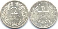 2 Reichsmark 1926 E Weimarer Republik Silber fast prägefrisch  65,00 EUR  +  4,80 EUR shipping