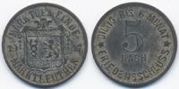 5 Pfennig 1917 Bayern Marktleuthen - Zink vernickelt 1917 (Funck 322.4a... 25,00 EUR  +  4,80 EUR shipping