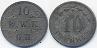 10 Pfennig ohne Jahr Westfalen - Hagen R.W.K O.H. = Rheinisch-Westf. Ka... 29,00 EUR  +  4,80 EUR shipping