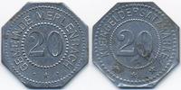 20 Pfennig ohne Jahr Lothringen Merlenbach - Zink nickelplattiert ohne ... 48,00 EUR  +  4,80 EUR shipping