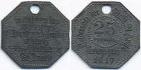25 Pfennig 1917 Lothringen St. Avold - Zink 1917 (Funck 469.1Ab neue Nr... 28,00 EUR  +  4,80 EUR shipping