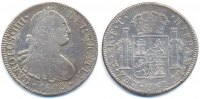 8 Real 1803 F.T. Mexiko - Mexico Carlos IV. 1788-1808 gutes sehr schön ... 69,00 EUR  +  4,80 EUR shipping