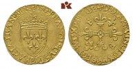 Ecu d'or au soleil o. J. (1519), 5. Typ, 3.  FRANKREICH François I, 151... 525,00 EUR  +  9,90 EUR shipping
