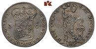 3 Gulden 1786. NIEDERLANDE Provinz. Feine Patina, attraktives, fast vor... 295,00 EUR
