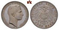 5 Mark 1907. Sachsen-Coburg-Gotha Carl Eduard, 1900-1918. Polierte Plat... 2245,00 EUR