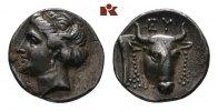 AR-Drachme 304/290 v. Chr.; EUBOEA ERETRIA. Herrliche Patina, fast vorz... 985,00 EUR