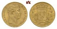20 Francs 1830 A, Paris. FRANKREICH Charles X, 1824-1830. Fast Stempelg... 1995,00 EUR
