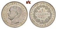 Gulden 1867. BADEN Friedrich I., 1852-1856-1907. Vorzüglich-Stempelglanz  225,00 EUR  +  9,90 EUR shipping