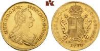 2 Souverain d'or 1773, IC-SK, Wien. RÖMISCH-DEUTSCHES REICH Maria There... 1695,00 EUR  +  9,90 EUR shipping