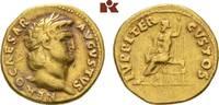 AV-Aureus, 64/65, Rom; MÜNZEN DER RÖMISCHEN KAISERZEIT Nero, 54-68. Fas... 2950,00 EUR free shipping