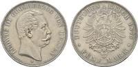 5 Mark 1876. Hessen Ludwig III., 1848-1877. Hübsche Patina, fast vorzüg... 1495,00 EUR  +  9,90 EUR shipping