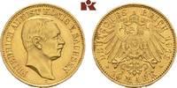 10 Mark 1912. Sachsen Friedrich August III., 1904-1918. Vorzüglich-Stem... 645,00 EUR