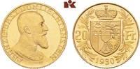 20 Franken 1930, Bern. LIECHTENSTEIN Franz I., 1929-1938. Vorzüglich-St... 1445,00 EUR