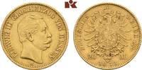 20 Mark 1873. Hessen Ludwig III., 1848-1877. Sehr schön-vorzüglich  645,00 EUR
