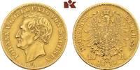 10 Mark 1873. Sachsen Johann, 1854-1873. Fast vorzüglich  395,00 EUR