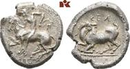 AR-Drachme, 425/400 v. Chr.; CILICIA KELENDERIS. Knapper Schrötling, kl... 385,00 EUR