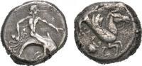 AR-Didrachme, 490/480 v. Chr.; CALABRIA TARENT. Sehr schön  525,00 EUR