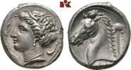 AR-Tetradrachme, 320/300 v. Chr., Lagermün SICILIA PUNIER. Attraktives ... 4245,00 EUR free shipping