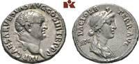 AR-Denar, 71, Ephesus; MÜNZEN DER RÖMISCHEN KAISERZEIT Vespasianus, 69-... 485,00 EUR