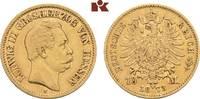10 Mark 1873. Hessen Ludwig III., 1848-1877. Sehr schön-vorzüglich  425,00 EUR  +  9,90 EUR shipping