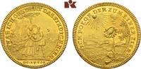 Goldmedaille zu einem Dukaten o. J. (18. Jahrhundert), NÜRNBERG  Vorzüg... 895,00 EUR