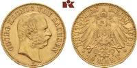 10 Mark 1903. Sachsen Georg, 1902-1904. Vorzüglich  595,00 EUR