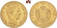 20 Drachmen 1876 A, Paris. GRIECHENLAND Georg I., 1863-1913. Sehr schön  545,00 EUR  +  9,90 EUR shipping
