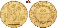 100 Francs 1900 A, Paris. FRANKREICH 3. Republik, 1870-1940. Fast vorzü... 1275,00 EUR  +  9,90 EUR shipping