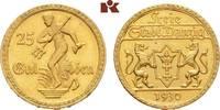 25 Gulden 1930. Danzig  Vorzüglich-Stempelglanz  2300,00 EUR  +  9,90 EUR shipping