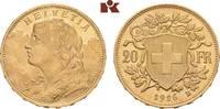 20 Franken 1926 B, Bern. SCHWEIZ  Stempelglanz  415,00 EUR  +  9,90 EUR shipping