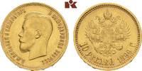 10 Rubel 1899, St. Petersburg. RUSSLAND Nikolaus II., 1894-1917. Vorzüg... 445,00 EUR  +  9,90 EUR shipping