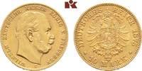 10 Mark 1875 C. Preussen Wilhelm I., 1861-1888. Vorzüglich  245,00 EUR  +  9,90 EUR shipping