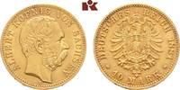 10 Mark 1881. Sachsen Albert, 1873-1902. Fast vorzüglich  /  vorzüglich  525,00 EUR  +  9,90 EUR shipping