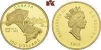 100 Dollars 1992. KANADA Elizabeth II seit 1952. Prachtexemplar von pol... 315,00 EUR  +  9,90 EUR shipping