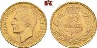20 Dinara 1925, Belgrad. JUGOSLAWIEN Alexander I., 1921-1934. Fast Stem... 475,00 EUR  +  9,90 EUR shipping