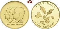 1.500 Kronen 2003, Kongsberg. NORWEGEN Harald V. seit 1991. Polierte Pl... 745,00 EUR  +  9,90 EUR shipping