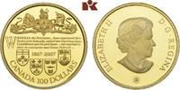 100 Dollars 2007. KANADA Elizabeth II seit 1952. Polierte Platte  315,00 EUR  +  9,90 EUR shipping