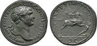Æ-Sesterz, 104/107, Rom; MÜNZEN DER RÖMISCHEN KAISERZEIT Traianus, 98-1... 1465,00 EUR  +  9,90 EUR shipping