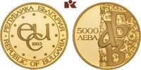 5.000 Lewa 1993. BULGARIEN  Prachtexemplar von polierten Stempeln, fast... 345,00 EUR  +  9,90 EUR shipping