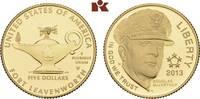 5 Dollars 2013 W, West Point. VEREINIGTE STAATEN VON AMERIKA / USA Föde... 395,00 EUR  +  9,90 EUR shipping