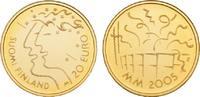 20 Euro 2005. FINNLAND 2. Republik seit 1917. Polierte Platte  85,00 EUR  +  9,90 EUR shipping